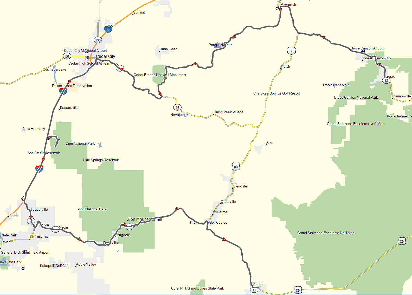 Maps Don Moe S Travel Website