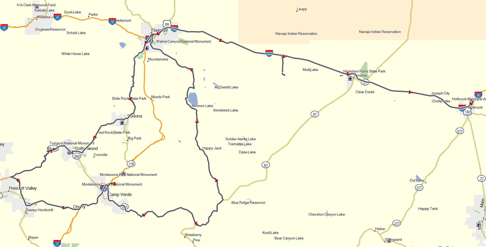 Flagstaff To Holbrook  Don Moe39s Travel Website