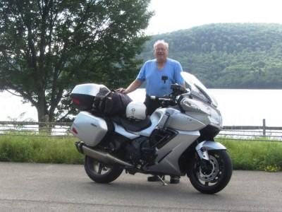 Alongside the Cannonsville Reservoir in the Catskills of New York