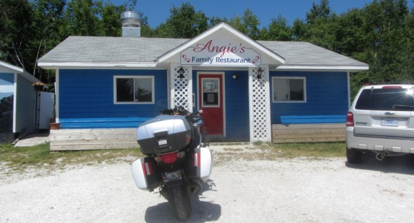 Angie's Family Restaurant on the Cabot Trail