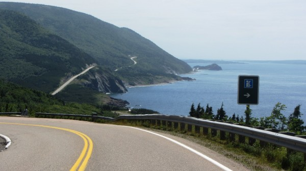 Northern shore of Cape Breton overlooking the Gulf of St. Lawrence