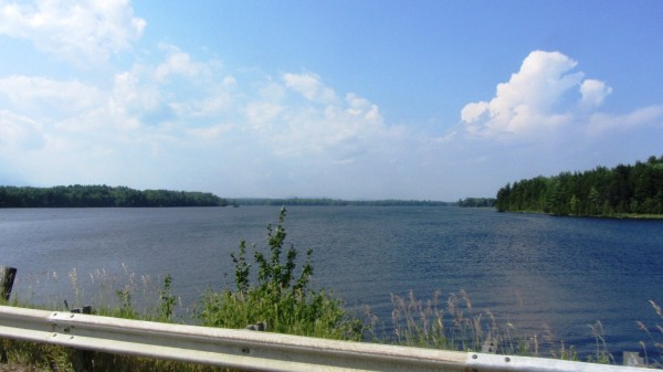 The Dolby Pond just east of Millinocket, ME on Hwy-11