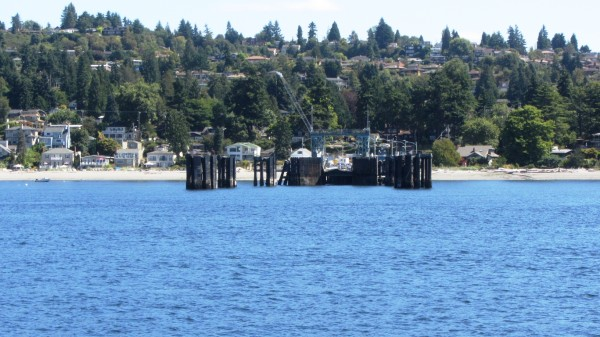 The Fauntleroy ferry terminal