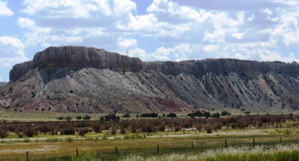 Mesa west of San Ysidro along US-550