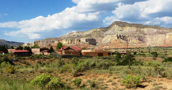 Ghost ranch near Mesa Montosa