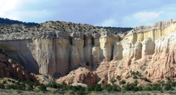 Rock formations near Mesa Montosa