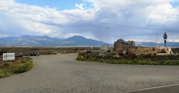 Visitor center for Earthship Biotecture