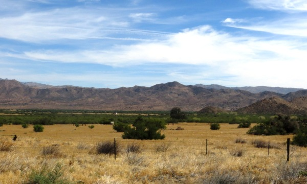 View from near Julian along CA-78 towards the northeast