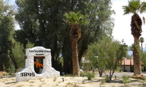 La Casa del Zorro Resort just south of Borrego Springs